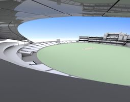 The Oval Cricket Ground - London 3D
