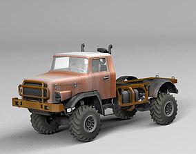 Rally truck 3D asset