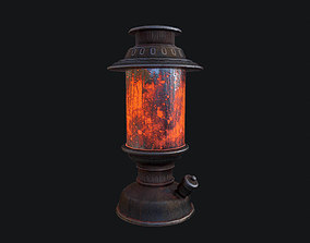 3D asset Kerosene Oil Lamp