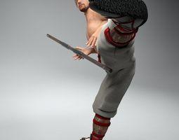 Bo Fighter 3D Model