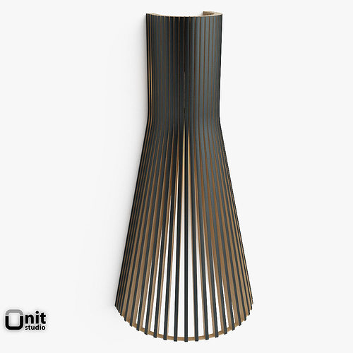 3d Wall Lamp Dwg : Secto 4230 wall light by Secto 3D Model MAX OBJ 3DS FBX DWG