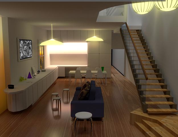 Living Room 3d Model Cgtrader