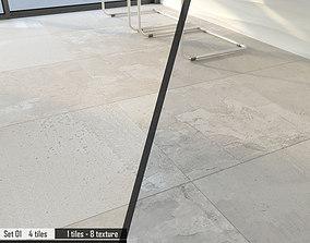 3D model ARIANA PORTLAND Set 01