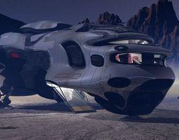 3D model RD-623 Lander