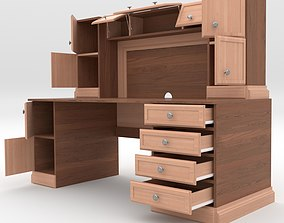 bookcase Office Cabinet 3D model