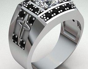 3D print model Ring Man ruby