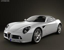 Alfa-Romeo 8C Competizione 2007 3D