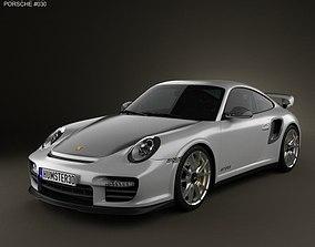 3D model Porsche 911 GT2RS 2011