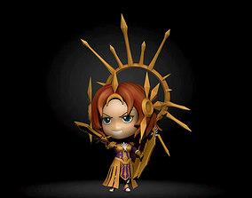 Leona lol chibi 3D printable model