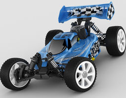 rc buggy model rigged