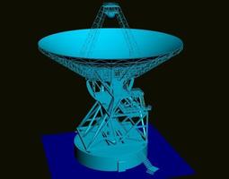 Satellite antenna 3D