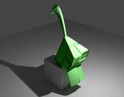 3D model Ketupat Packed Rice
