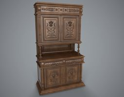 Sideboard 3D asset