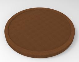 Button 3D print model