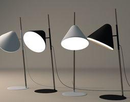 Hello lamp by Normann Copenhagen 3D model