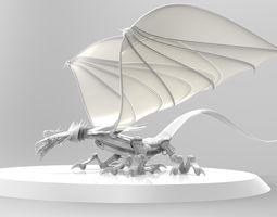 Dragon reptile 3D