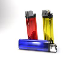 disposable lighter 3D