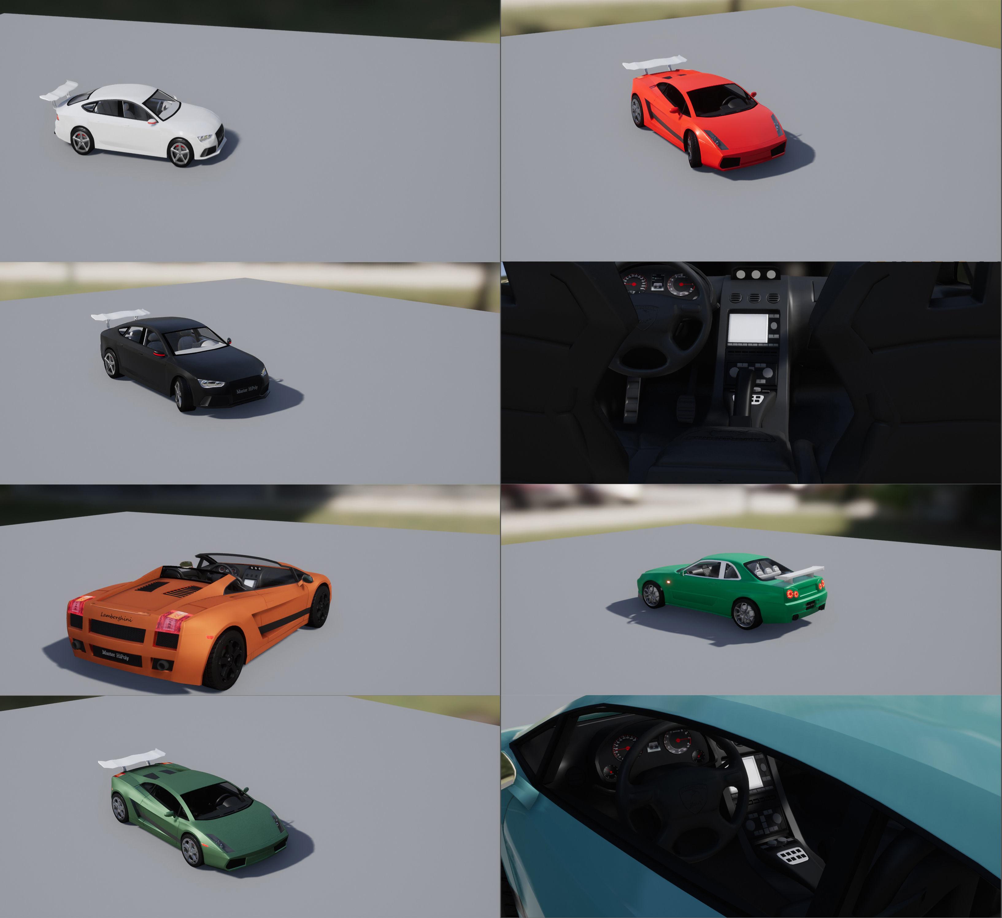 Advanced Race Car Pack 1