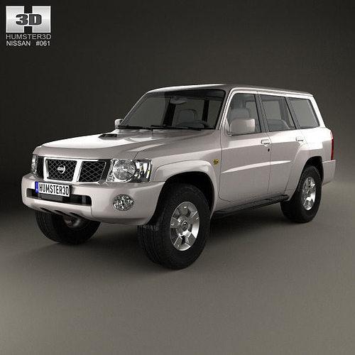 Nissan Patrol Y61 2004   3D model