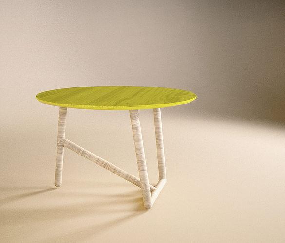 coffee table moroso design 3d model 3ds stl 3dm 1