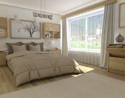 visualization 3D model Bedroom