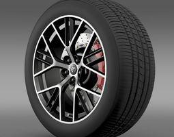 3D model Toyota GT 86 concept wheel