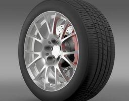 Toyota GT 86 GRMN wheel 3D