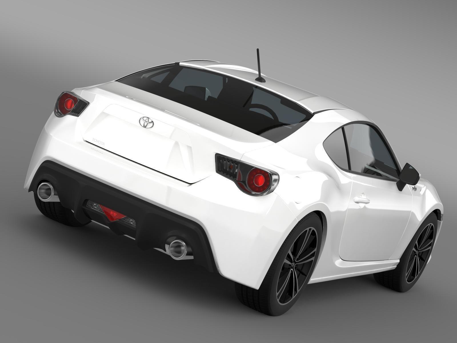 Superieur ... Toyota Gt 86 2012 3d Model Max Obj 3ds Fbx C4d Lwo Lw Lws 5 ...