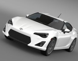3d toyota gt 86 cup edition 2014
