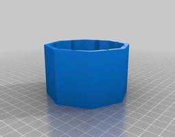 3D print model Octagonal Aquarium leak repair