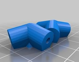 bucky ball space frame joiners 3D printable model