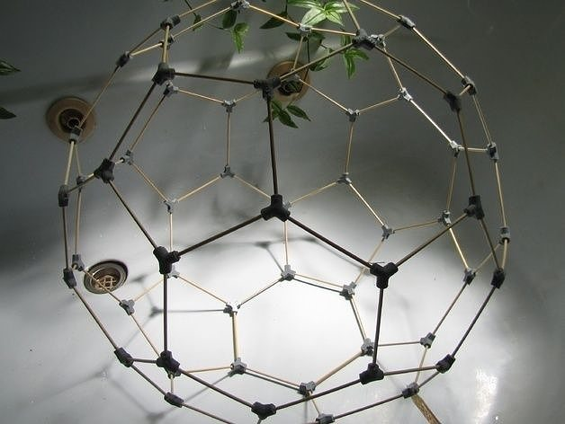 how to make a buckyball model