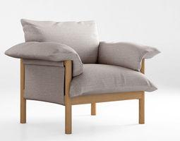 Jardan Wilfred armchair 3D