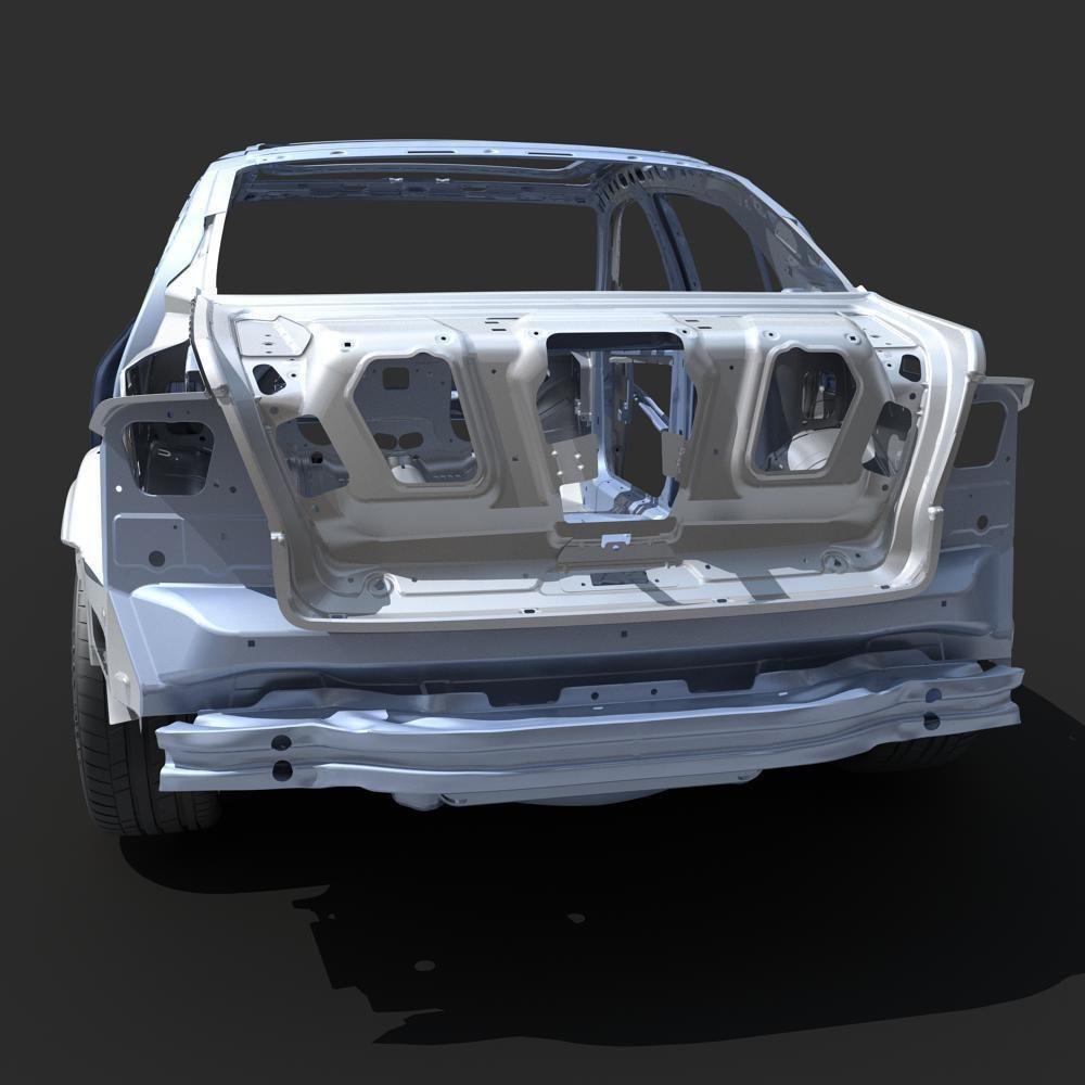 3D model Car Frame 03 | CGTrader