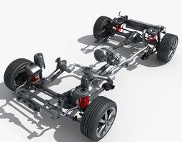 Suspension 3D Model