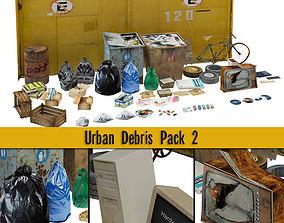 Urban Debris Pack 02 3D model