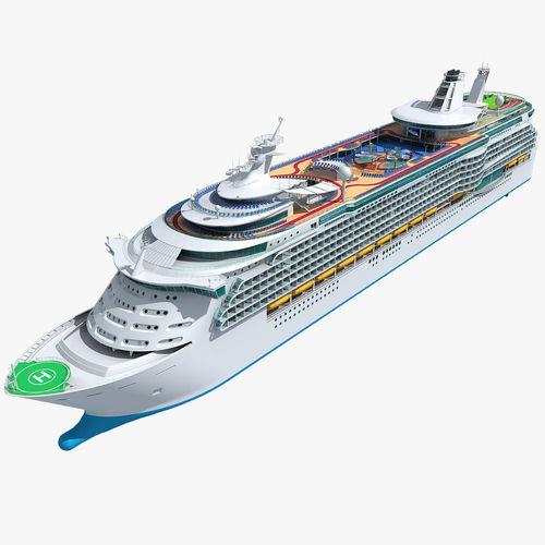 mariner of the seas cruise 3d model max obj fbx 1