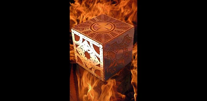 lemarchand s box from hellraiser lament configuration 3d model stl ige igs iges 1