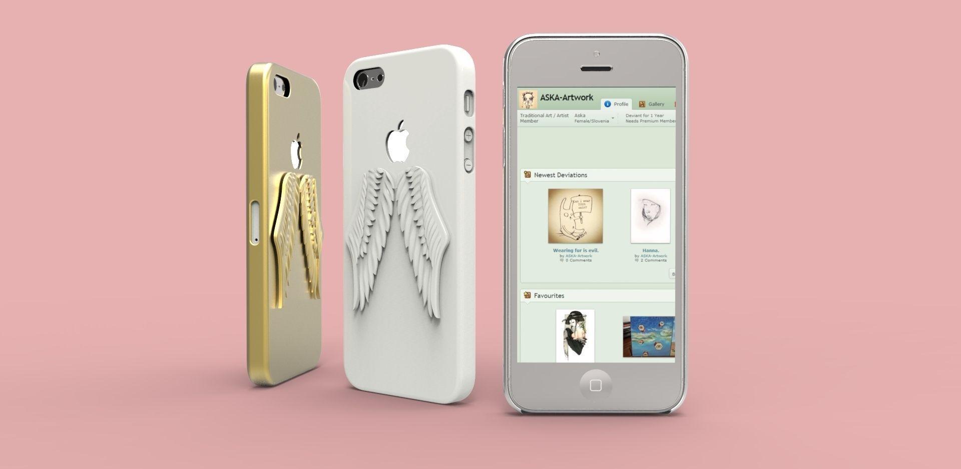 iPhone 5 Angel Wings case