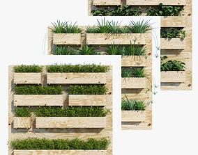 Planter box collection 3D