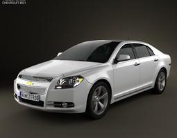 3D model Chevrolet Malibu 2012
