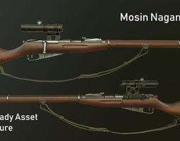Mosin Nagant M91 3D model