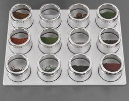 3D spice box 23 am145