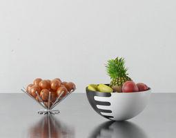 3d fruit  bowls 07 am145