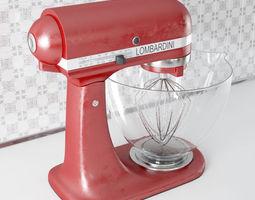 3D model mixer 22 am143