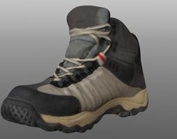 shoes VR / AR ready Boot 3D model