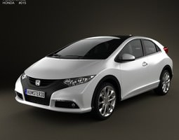 3d honda civic eu 2012