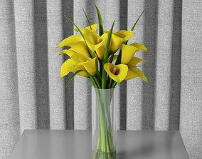 calla lily 04 3D