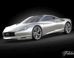 3D model Infiniti Emerg-E concept