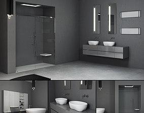3D model Bathroom furniture set Panta Rel 6